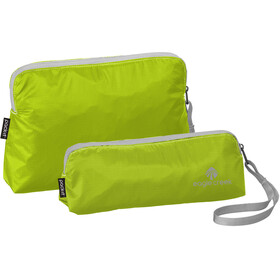 Eagle Creek Specter Wristlet Set strobe green